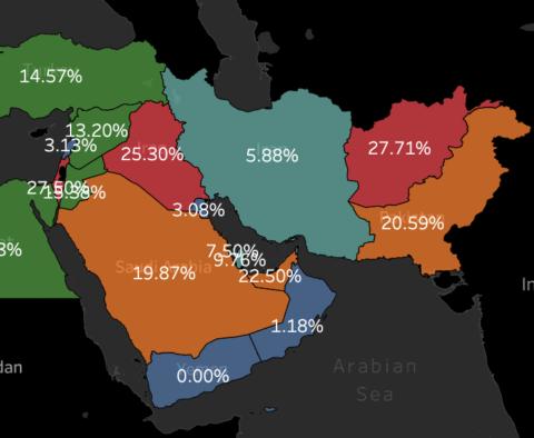 درصد حضور زنان در مجلس