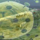 ایران..هواپیمایی-ماهان،-عامل-شیوع-کرونا-