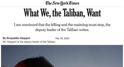 طالبان-نیویورک تایمز